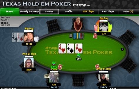 facebook poker wsop